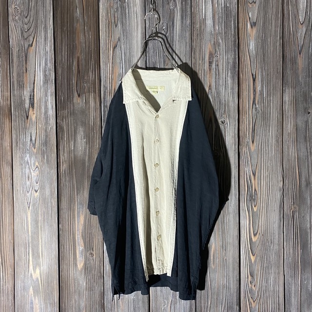 [used]center wide line shirt