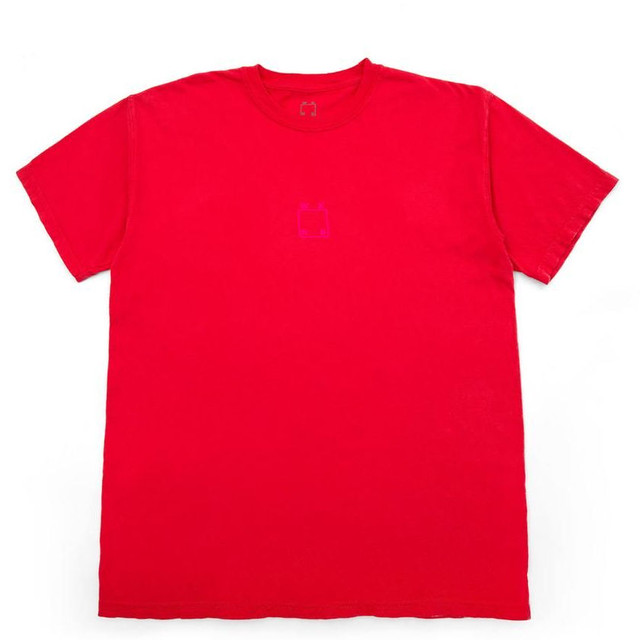 WKND SKATEBOARDS  CENTER LOGO TEE PAPRIKA