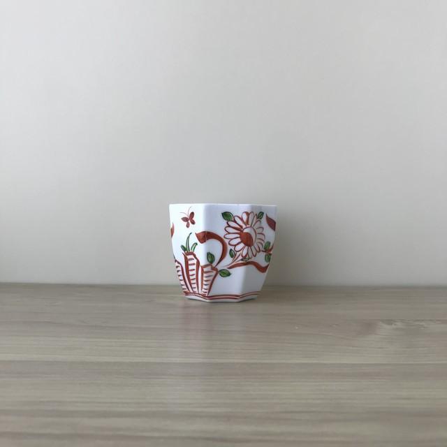 【有田焼】錦万歴八角小鉢