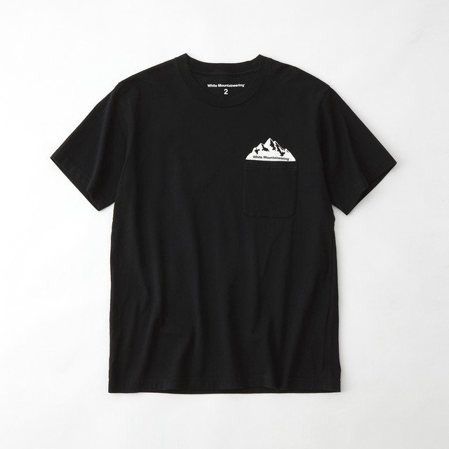 POCKET PRINTED T-SHIRT - BLACK