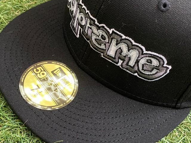 Supreme × NEW ERA GONZ LOGO CAP BLACK 59.6㎝ 70KG7492