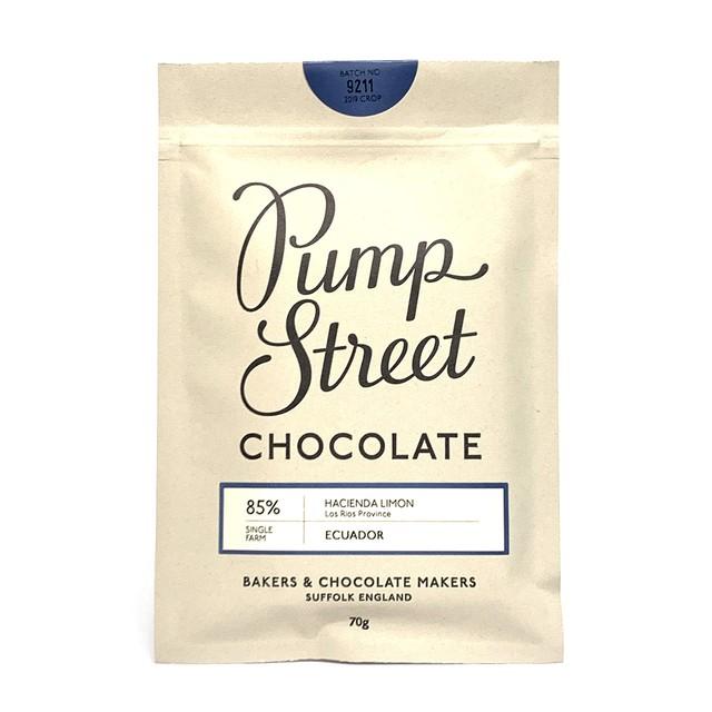 パンプストリートベーカリーチョコレート エクアドルハシエンダリモン85%