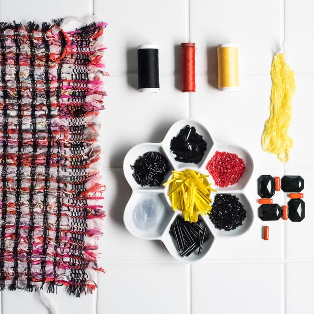 ツイード × 刺繍素材セット セレクトNo.16