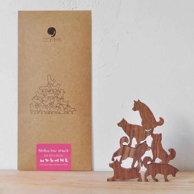 Cat Pile - キャットパイル【パープル】地味にはまる!色んなポーズをしたネコのつみき 全5種類(A73001)
