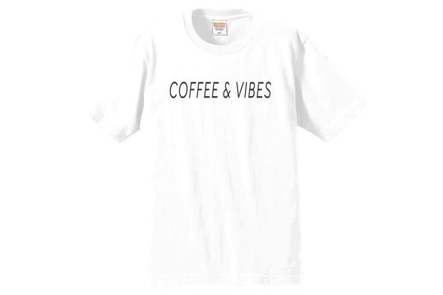 BGMオリジナルTシャツ(COFFEE & VIBES)