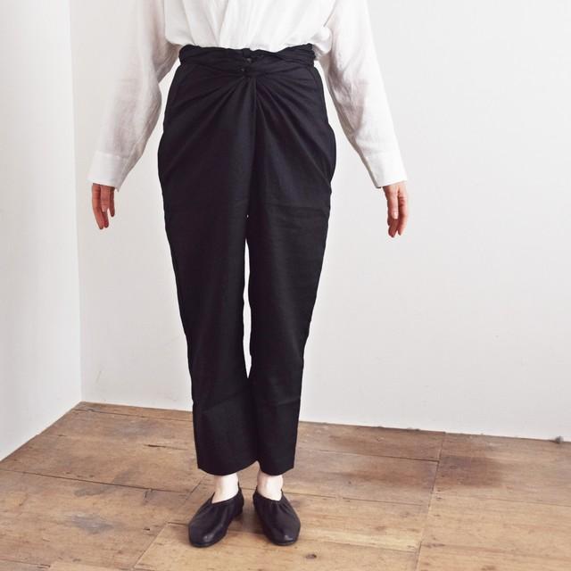 COSMIC WONDER  コズミックワンダー ライトリネン ラップドパンツ Beautiful light linen wrapped pants 11CW11083