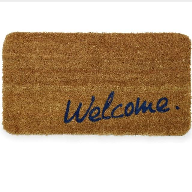 ウェルカム welcome コイヤーマット 玄関マット