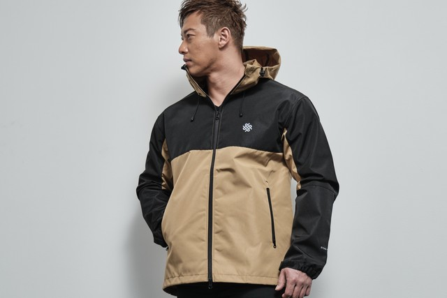 switching shell parka(COYOTE BROWN/BLACK)