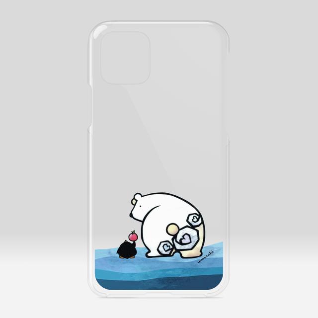 iPhoneケース :シロクマのおしり 送料無料