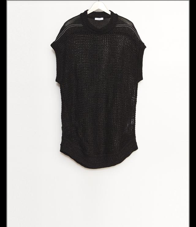 Knit Vest / Black