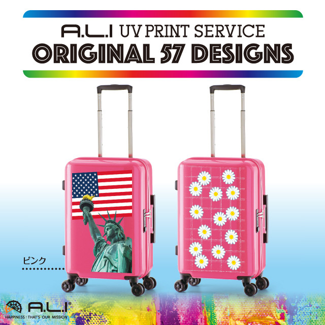 【UV PRINT】ORIGINAL 57 DESIGNS ADY-1100-18.5 ピンク