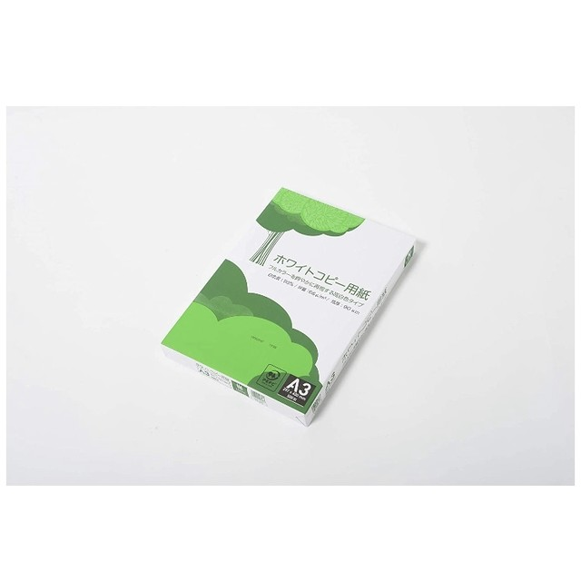 APP 高白色 ホワイトコピー用紙 A3 白色度93% 紙厚0.09mm 500枚