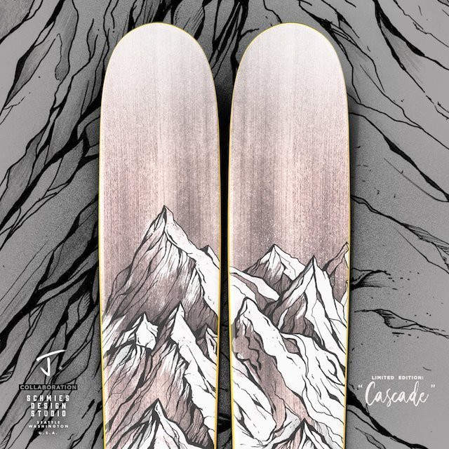 "J skis - THE FRIEND ""CASCADE - RYAN SCHMIES X J COLLAB"""