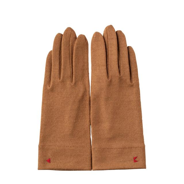 【手袋】127ジンジャー/ウール100%/手が細くキレイに見える