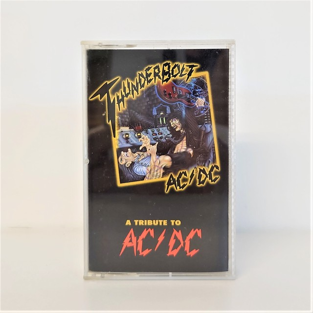 [中古カセット]  Various ‎– Thunderbolt - A Tribute To AC/DC