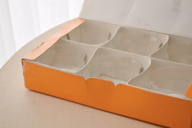 Nuutajarvi Prisma 6 bowls set with Box(Kaj Franck)