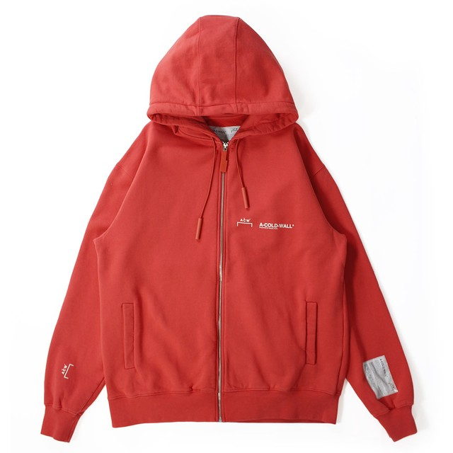 A COLD WALL Zip Up Hoodie
