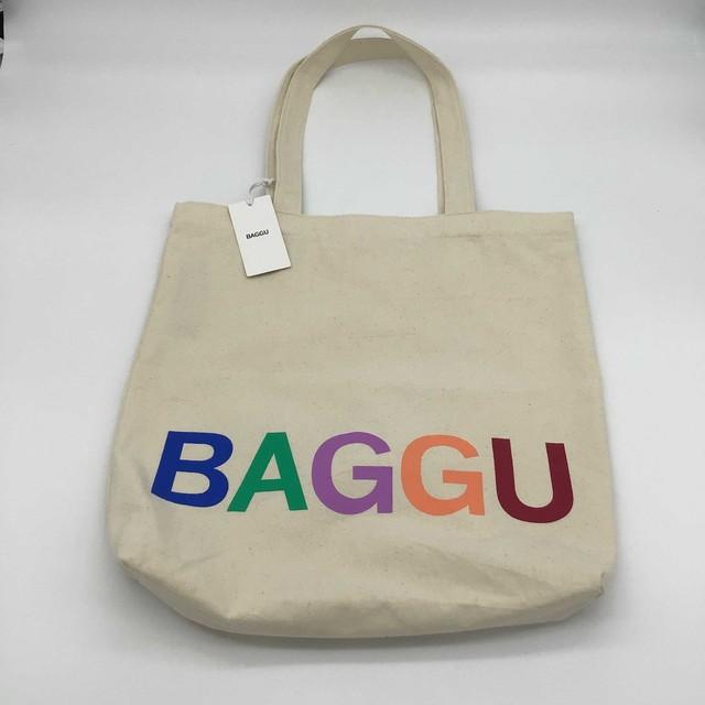 【日本未発売モデル】BAGGU // トートバッグ  キャンバス