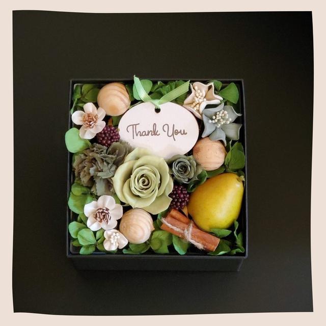 香るBOXアレンジ~花と香りのギフト