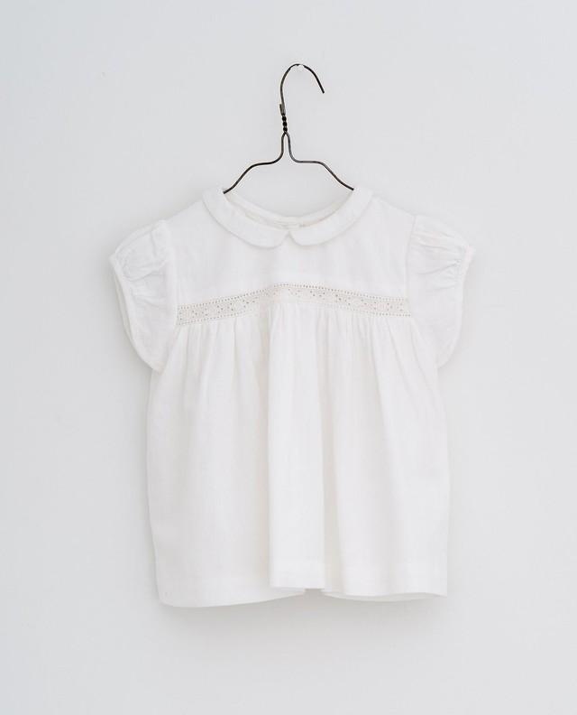 Little cotton clothes/Juno lacy blouse - off-white
