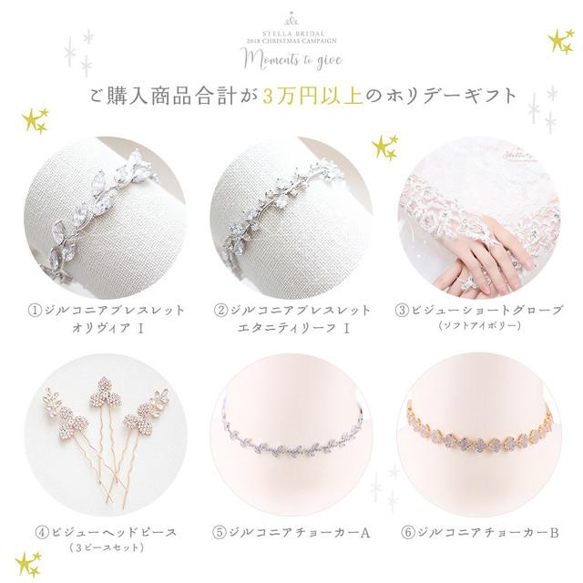 《Christmas Campaign》ご購入商品合計が3万円以上でもらえるホリデーギフト