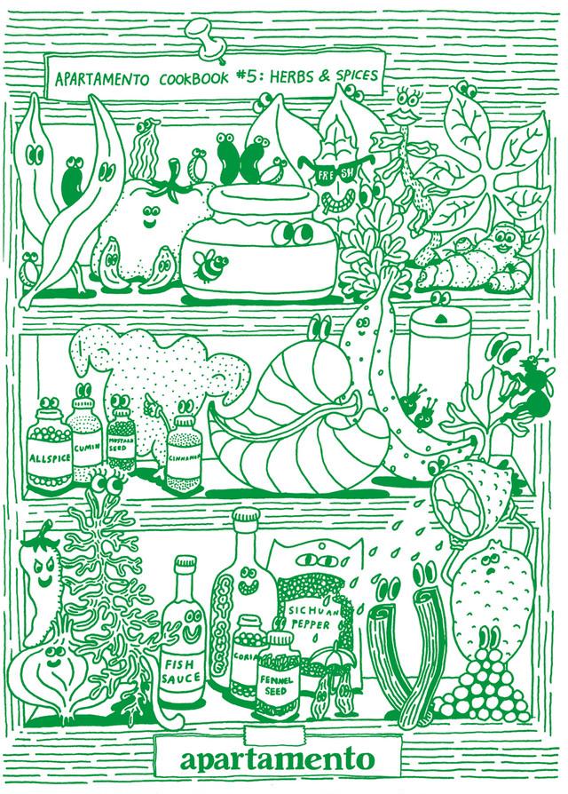 BOOK / apartamento cookbook #5:harbs&spices