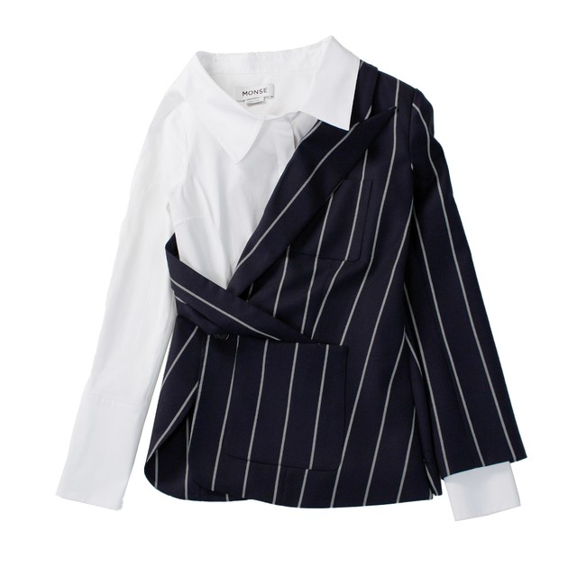 MONSE Stripe Jacket