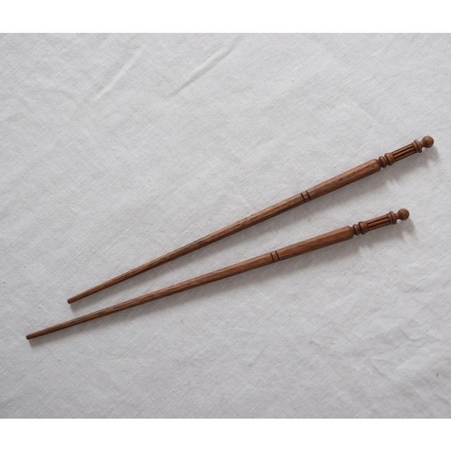 les trois entrepots  オリジナル ウォールナット 取り箸