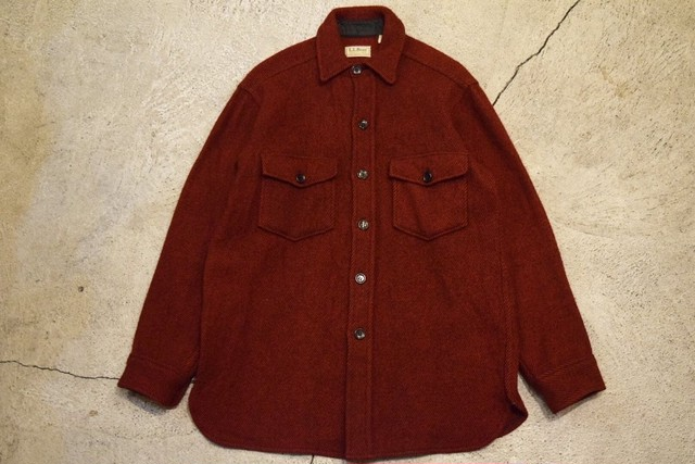 USED 80s L.L.Bean Northwoods Jac-shirt -Medium S0724