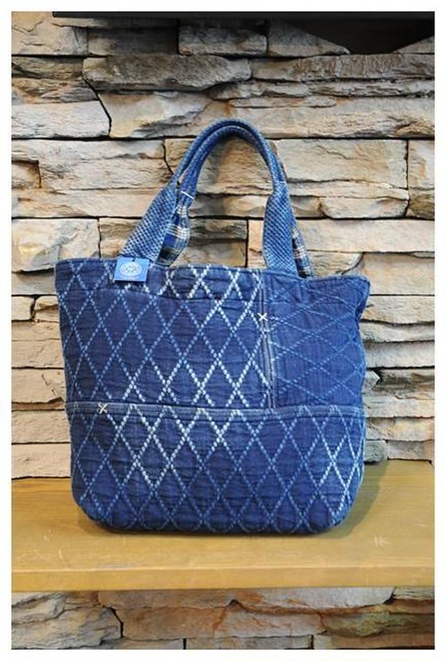Porter Classic - KENDO - Diamond Pattern Tote Bag M