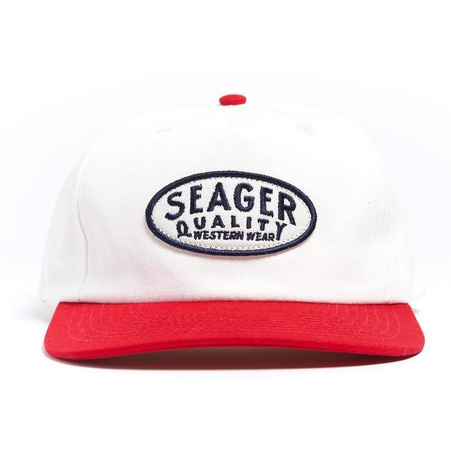 SEAGER #Old Town Snapback Red