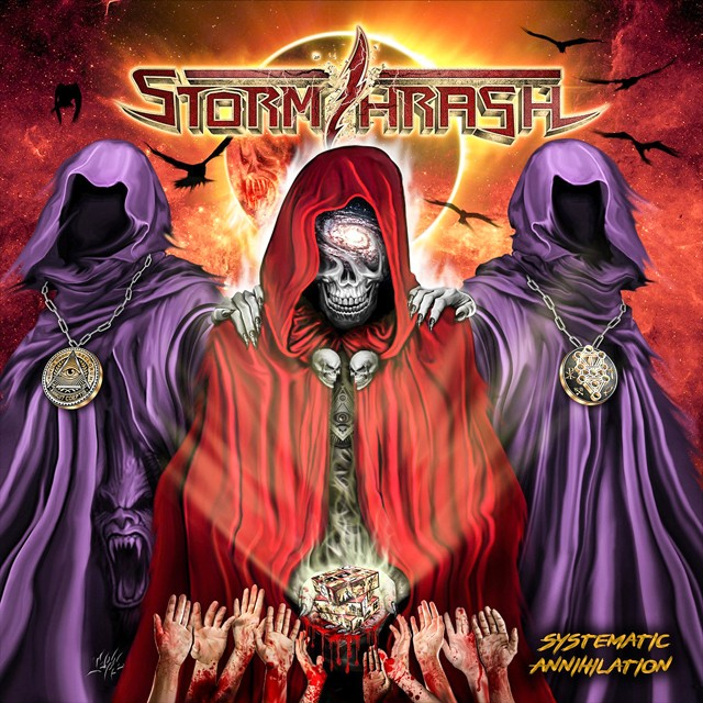 STORMTHRASH『Systematic Annihilation』CD