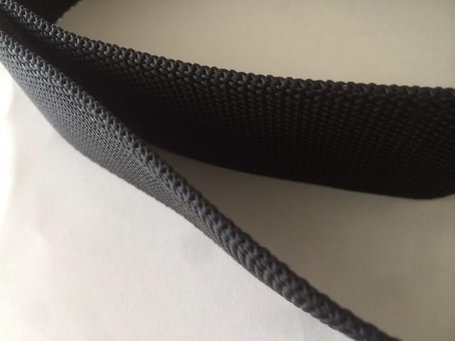 PP 厚手 2.5mm厚 50㎜幅 黒 5m