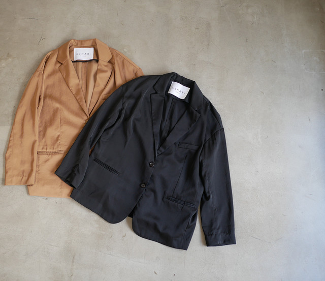 """CaNARi"" 2019FALL The EASY  jacket & slacks"