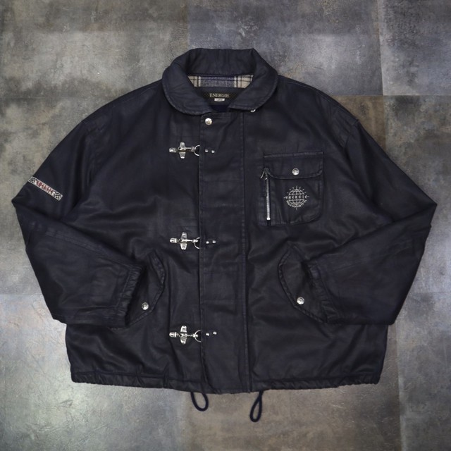 made in Italy fireman jacket