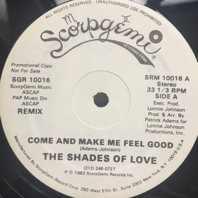 The Shades Of Love – Come And Make Me Feel Good (Remix)