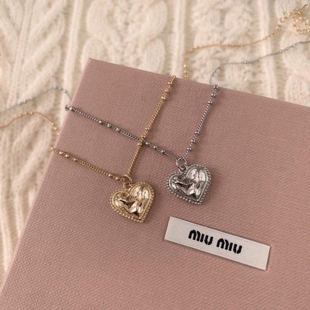【meltie】petit heart necklace