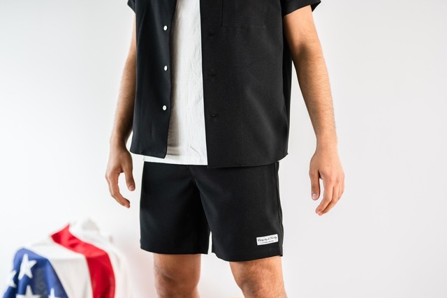 ThreeArrows Resort shorts(black)