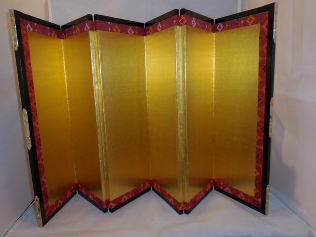 お内裏様の屏風 mini folding screen( No5)