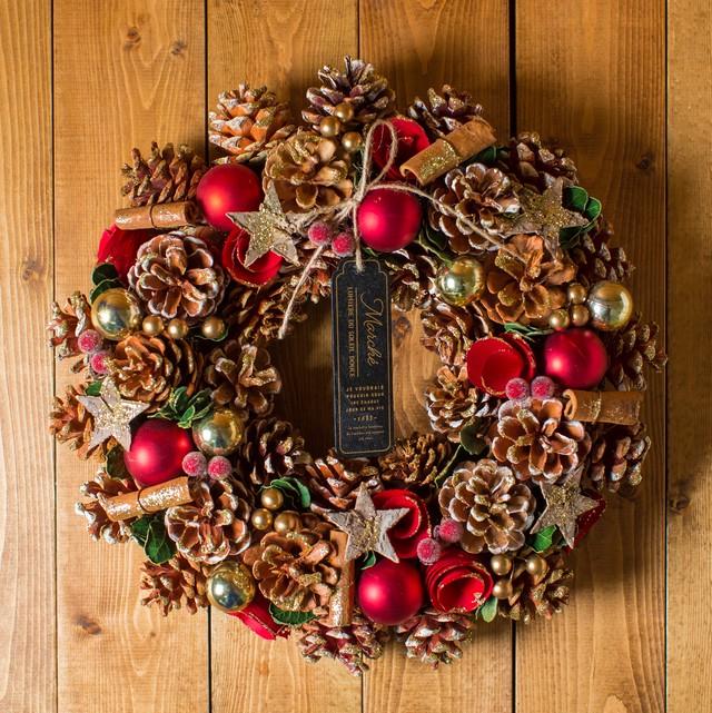 ローズウィップ/リース【クリスマス・花のプレゼント】(自然素材)