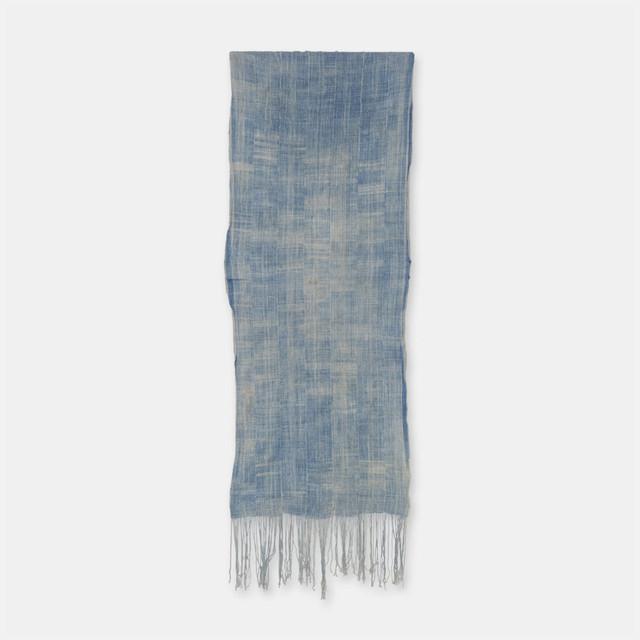 ブルキナファソ モシ族 ヴィンテージの藍染め布 古布 SLI002