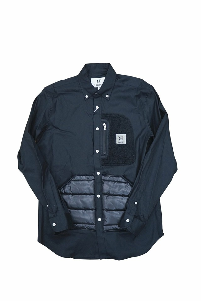 OUTDOOR POCKET SHIRTS (BLACK)