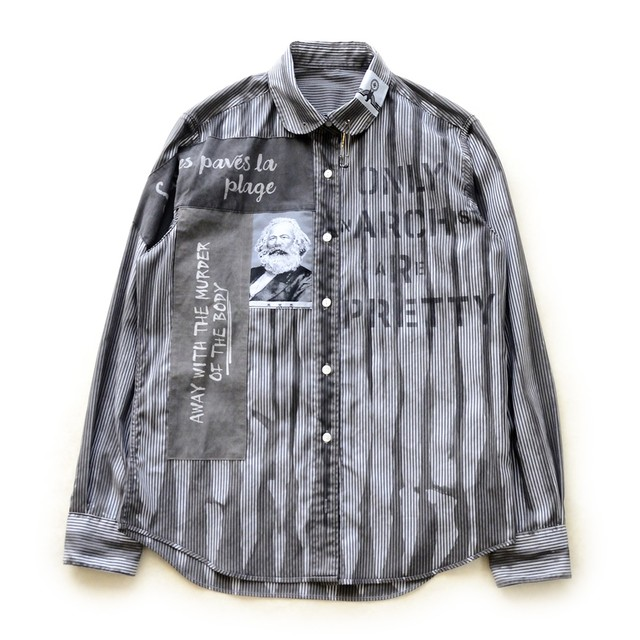 anarchy shirt 046 monochrome