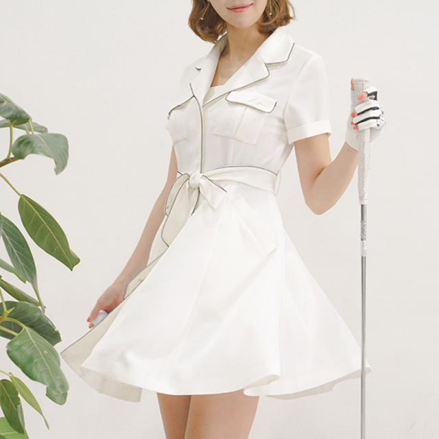 Trench One Piece(White)