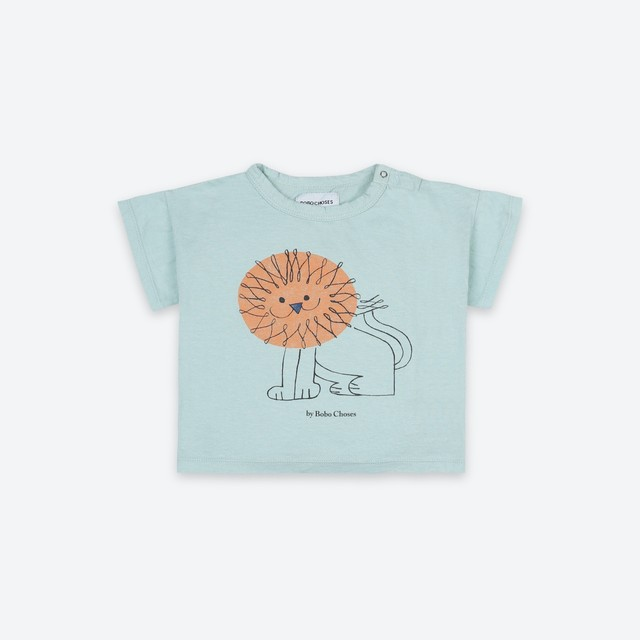 《BOBO CHOSES 2021SS》Pet A Lion T-Shirt / 6-36M