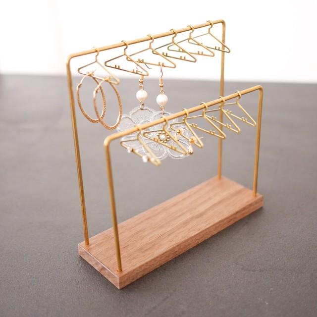 【ギフト包装可】Hangers for Earrings by canade craft