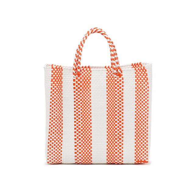 MERCADO BAG 4LINES-Orange (S)