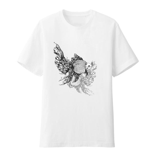 Tシャツ「硝子に囲まれ育った」