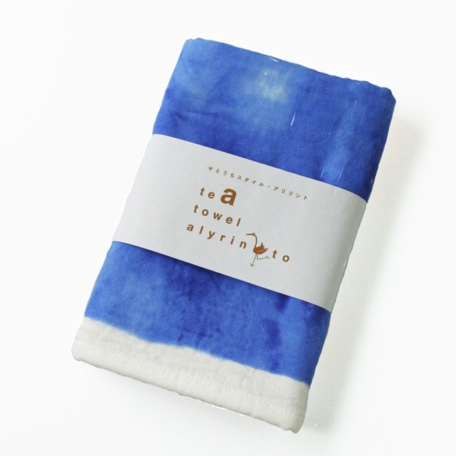 Alyrinto [せとブルー] ティータオル/ブルー