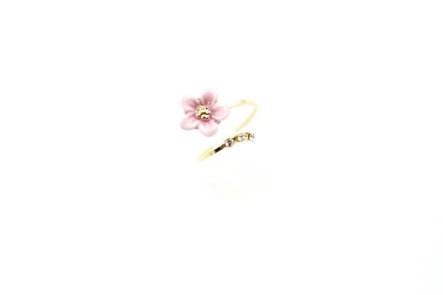 有田焼リング flower 15